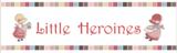 Lecien Little Heroines taupe Sunbonnet Sue naaitaferelen_