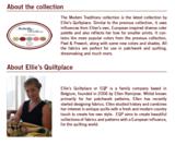 EQP Modern Traditions groen met ecru werkje_