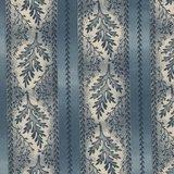 Marcus Fabrics Bathwick blauwe rand_