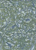 Free Spirit / Morris & co. Kelmscott groen grote tak_