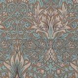 Free Spirit / Morris & co. Merton taupe snakehead_