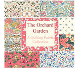 Liberty London The Orchard Garden wit blauw bloemetje_