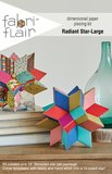 Radiant Star-Large paper piecing kit_
