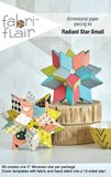 Radiant Star-small paper piecing kit_
