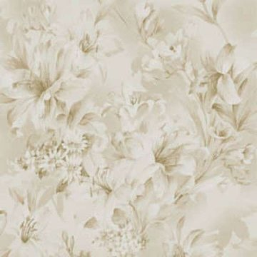 Fabriquilt Ivory Tonal Lily vergrijsd beige