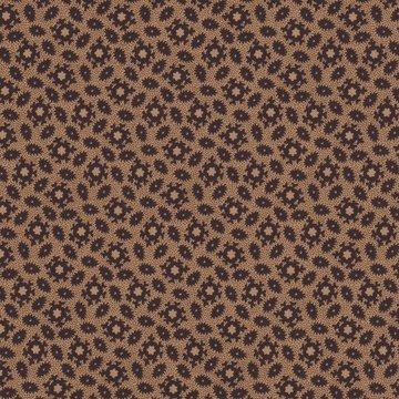 Marcus Fabrics Judie's Album Quilt bruin met donker bruin werkje