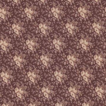 Penny Rose Fabrics Penelope bruin roosje