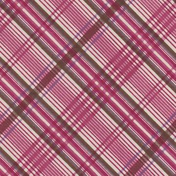 Windham Fabrics Edith ecru met rode ruit