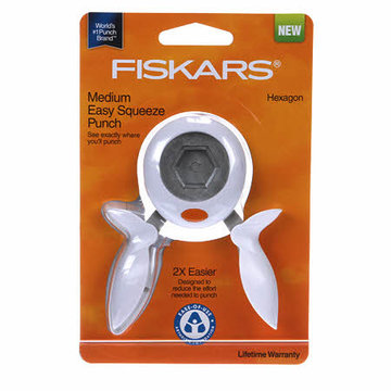 Fiskars hexagon punch (pons) Medium (0,5 inch)