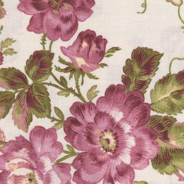 Penny Rose Fabrics Isabella ecru met grote bloem