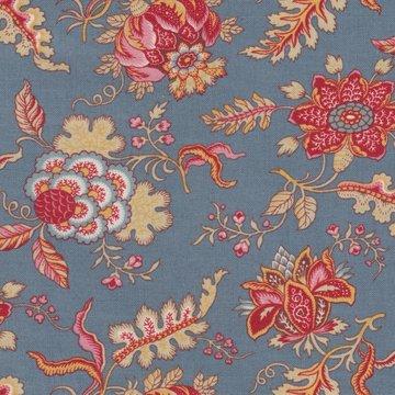 Dutch Heritage VOC Chintz Pomegranate blauw bloem