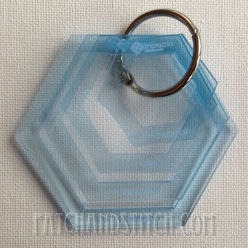 Imprezzio Template Set Hexagons Klein