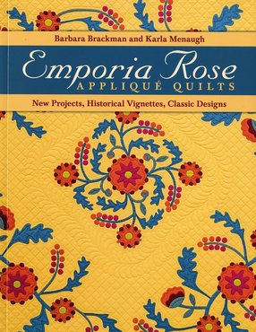 Boek: Emporia Rose Applique Quilts, Barbara Brackman and Karla Menaugh