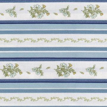Maywood Gentle Breeze wit met blauw/groen streep