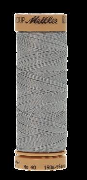 Mettler Quilting Waxed 0962 licht grijsblauw