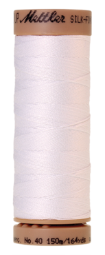 Mettler Silk Finish Cotton 40, 2000 wit