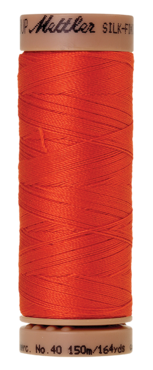 Mettler Silk Finish Cotton 40, 0450 oranje