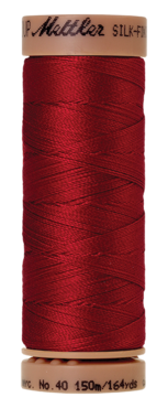 Mettler Silk Finish Cotton 40, 0504 rood
