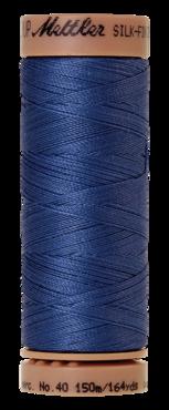 Mettler Silk Finish Cotton 40, 0815 blauw