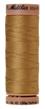 Mettler Silk Finish Cotton 40, 0261 geelbruin
