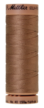 Mettler Silk Finish Cotton 40, 0280 warm bruin