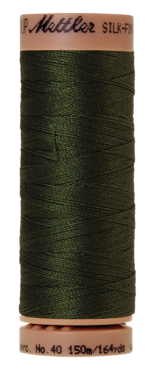 Mettler Silk Finish Cotton 40, 0886 woudgroen
