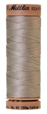 Mettler Silk Finish Cotton 40, 0331 licht grijs