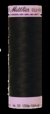 Mettler Silk Finish Cotton 50, 4000 zwart
