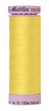 Mettler Silk Finish Cotton 50, 3507 fris geel