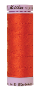 Mettler Silk Finish Cotton 50, 0450 oranje