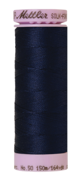 Mettler Silk Finish Cotton 50, 0825 navy
