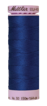 Mettler Silk Finish Cotton 50, 1304 royal blauw