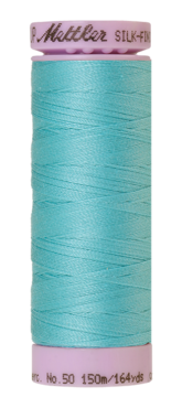 Mettler Silk Finish Cotton 50, 2792 aquablauw