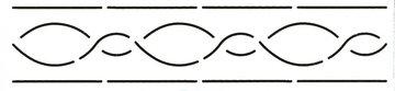 Quilt Stencil Border