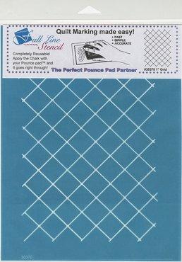 Full Line stencil raster 1 inch
