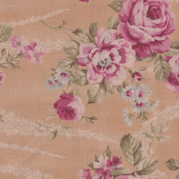 Lecien Antique Rose tan roze roos