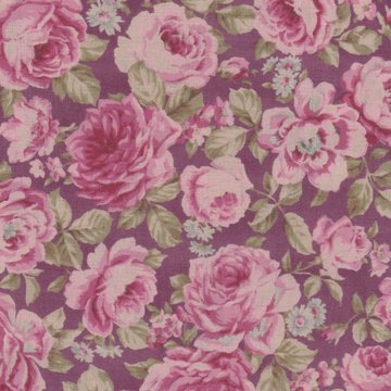 Lecien Antique Rose roze roos middel