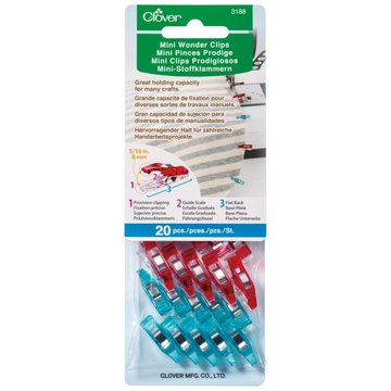 Clover Mini Wonder Clips 20 stuks
