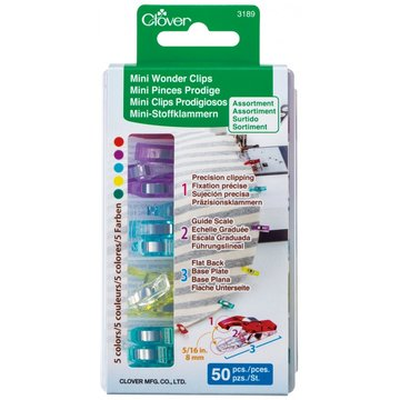 Clover Mini Wonder Clips 50 stuks