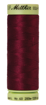 Mettler Silk Finish Cotton 60, 0918 wijn rood