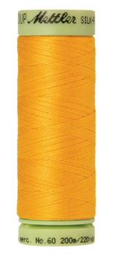 Mettler Silk Finish Cotton 60, 2522 geel-oranje