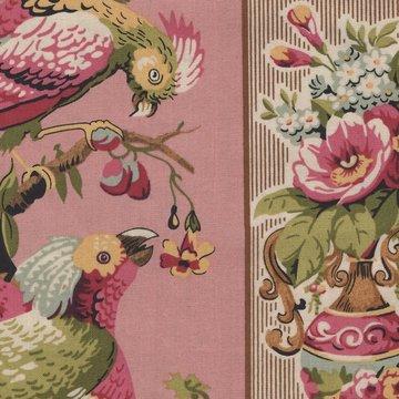 Andover Bally Hall roze brede rand