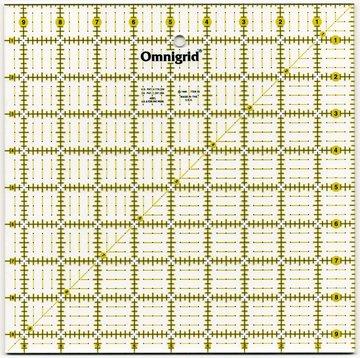 Omnigrid universele liniaal 9,5 x 9,5 inch