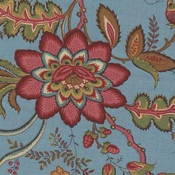 Dutch Heritage Arabesque blauw bloem