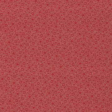 Windham Fabrics Centennial Shirtings rood ecru werkje