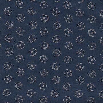 Windham Fabrics Centennial Shirtings blauw ecru werkje