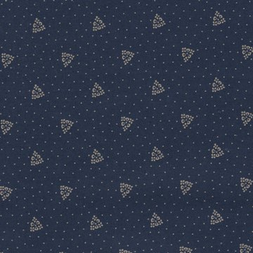 Windham Fabrics Centennial Shirtings blauw ecru streepje