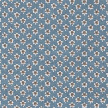 Andover Blue Sky blauw wit bloemetje