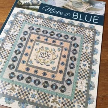 Boek: Make it blue, Natalie Bird, The Birdhouse