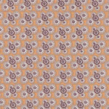 Eyelike Fabrics Hindelopia geel kleine bloem